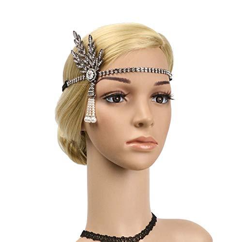 1920's Flapper Headbands Great Gatsby 20s Headpiece Flapper