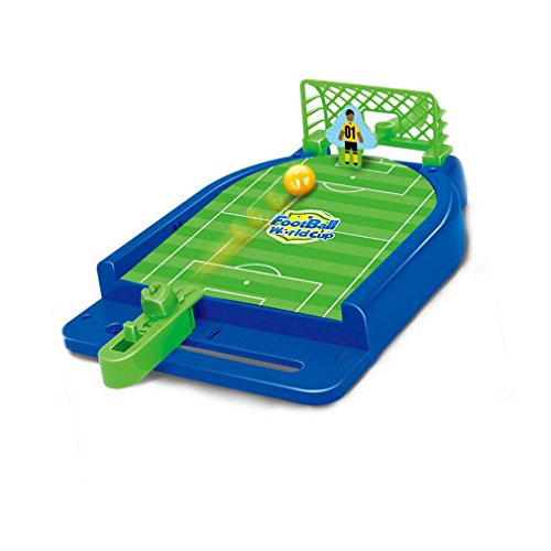 Soccer Dice Game (Owfeel Mini Football Soccer Ball Desktop Shooting Playset Tabletop Game for Kids Boys Girls Indoor or Outdoor)