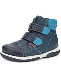 Alex Boys' Corrective Orthopedic High-Top Leather Boot Diagnostic Sole (Toddler/Little Kid)
