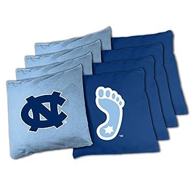 NCAA North Carolina Tar Heels 16oz, Duckcloth Cornhole Bean Bags