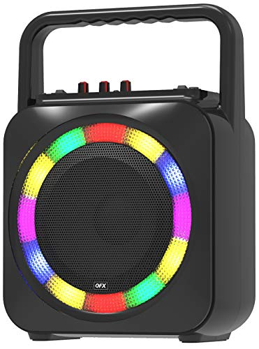 QFX Portable Bluetooth Party Speaker Black