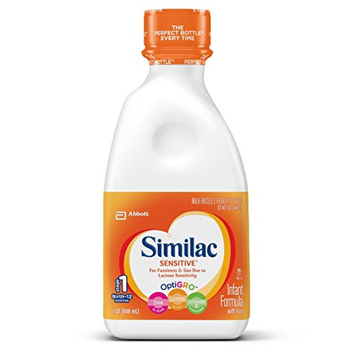 Similac Sensitive Ready to Feed, 32 Fluid Ounce