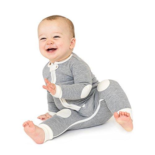 Dream Baby Romper - baby deedee 1 Piece Cotton, Velour Long Sleeve Footless Romper Pajama, Dream Catcher, 3-6 months