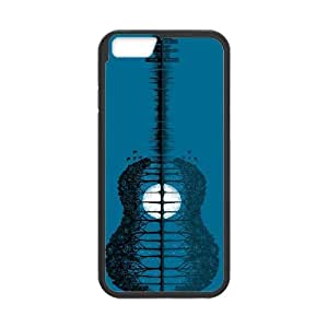 Guitar Pattern Hard Skin Pattern Back Phone Case Potector For Iphone 6 4.7 Case TSL153354