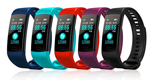 Fitness Tracker Watch - Waterproof, Pedometer, Heart Rate Monitor, Blood Pressure Monitor, Take Pictures and Even Find Your Phone - So Many Features