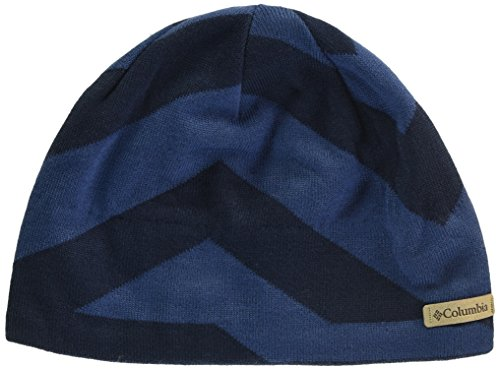 Columbia Men's Powderkeg Beanie, Collegiate Navy, One (Columbia Sportswear Fleece Hat)