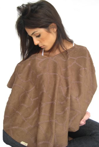 L'ovedbaby 4-in-1 Nursing Shawl Out-on-the-Town Brown