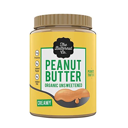 The Butternut Co. Peanut Butter Organic Unsweetened, 1KG (No Added Sugar, Vegan, High Protein, Keto) (B07HZ9SVM1) Amazon Price History, Amazon Price Tracker