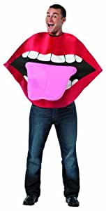Lips - Disfraz de boca para hombre, talla única (213556)