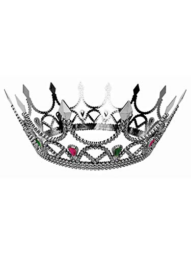 Royal Queen Crown Silver Accessory ()