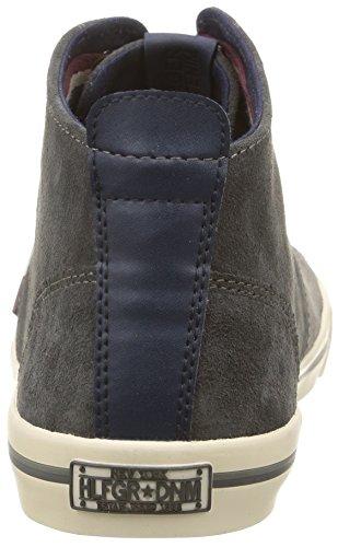 Uomo 096 Tommy Varsity Grigio Tommy Sneaker 3B Hilfiger Hilfiger 8qv4Y8
