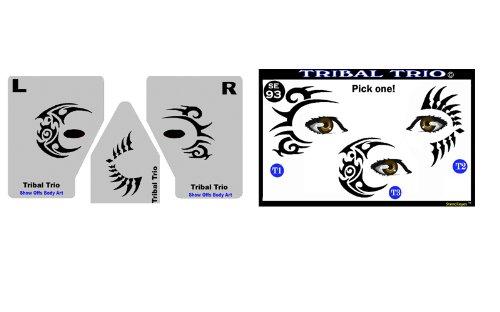 face-painting-stencil-stencileyes-tribal-trio-eye-tats