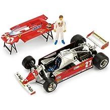 Ferrari 126CK Turbo #27 Gilles Villeneuve - 1st Place Grand Prix Monaco 1981 - 1/43rd Scale Brumm Plus Super Series