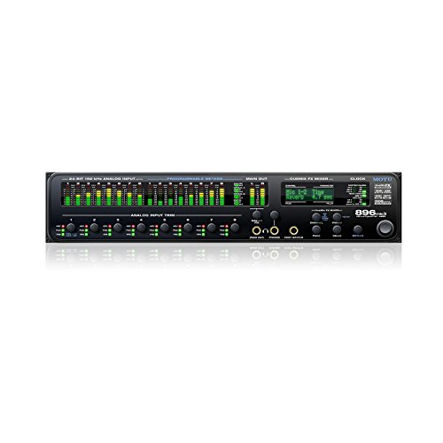 16 Reverb Plug (MOTU 896mk3 Hybrid | 8 Mic Guitar Input with On Board Effects and Mixing)