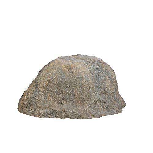 Outdoor Essentials Faux Boulder Rock, Tan, Sitting