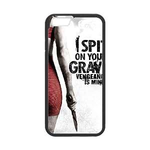 I Spit On Your Tumba Iii es la venganza alta resolución Mina cartel iPhone 6 4.7 pulgadas del teléfono celular funda Negro caja del teléfono celular Funda Cubierta EEECBCAAJ79995