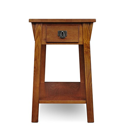 Leick Mission Chairside Small End Table – Russet