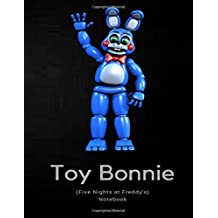 Toy Bonnie Notebook (Five Nights at Freddy's)