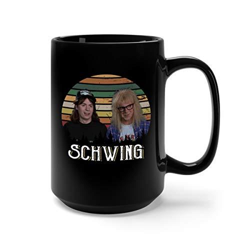 (Schwing Ceramic Coffee Mug Tea Cup (15oz,)