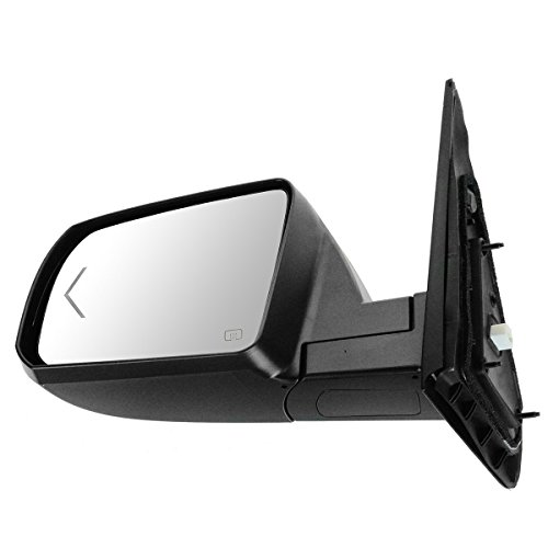 Mirror Power Folding Heated Turn Signal Chrome Driver Side LH for Tundra ()