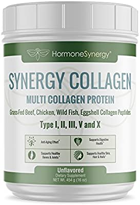 Multi Collagen Protein | Synergistic Blend of Grass-Fed Beef