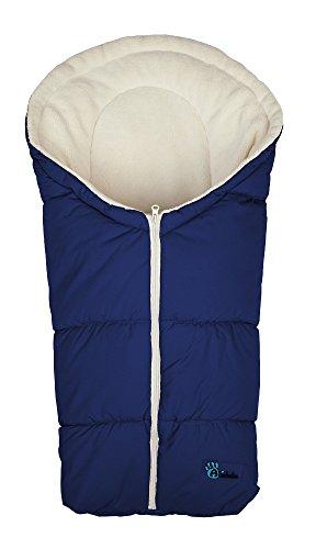 Altabebe Active Line - Saco de invierno para silla de coche, 0-12 meses, color azul marino/bl