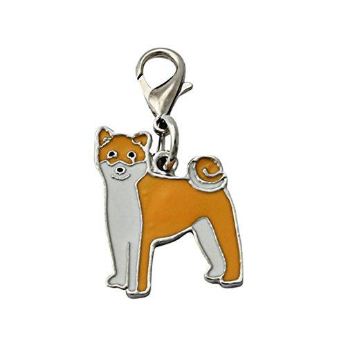 Aluminum Round Pattern Led (HANYI New Christmas Design Pet Dog Collar (Shiba)