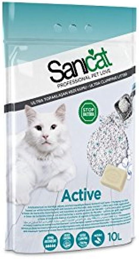 Sanicat - Arena con componente aglomerativo para gatos