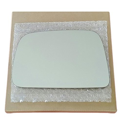 Mirror Glass and Adhesive 95-00 Toyota Tacoma Pickup Driver Left Side Replacement - FITS MANUAL MIRRORS ONLY