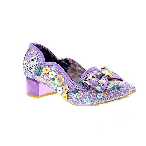 Irregular Choice Women's Bunny Hop Synthetic Court Shoes LcQO6