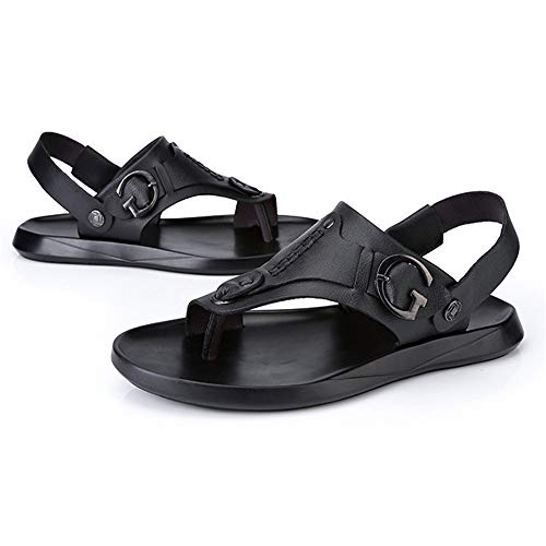 Ocio 0 Libre Toe Aire Shoes Hombres 42 Negro Beach EU 27 Wangcui Antideslizante Al Negro Negro Clip 24 CM 5 De Los Sandalias Color tamaño nqwxZ4A