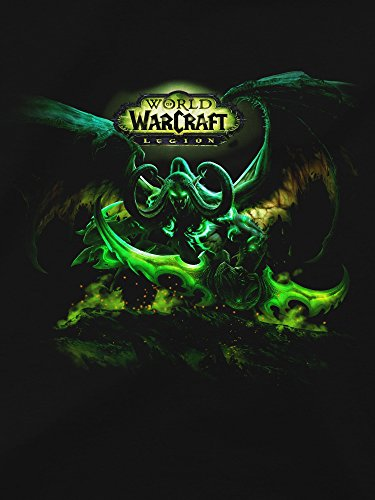 JINX-World-of-Warcraft-Legion-Mens-Lord-of-Outland-Premium-Cotton-T-Shirt