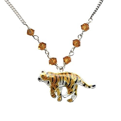Tiger Cloisonne Small Necklace