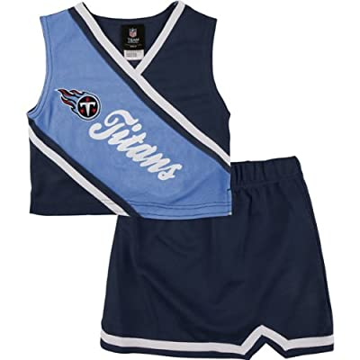 OuterStuff Tennessee Titans NFL 2 Piece Cheerleader Team Color Set : Sports & Outdoors [5Bkhe0202306]