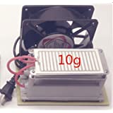 10g/h Ozone Generator Fan Ozone Disinfection Machine Air Purifier 110v