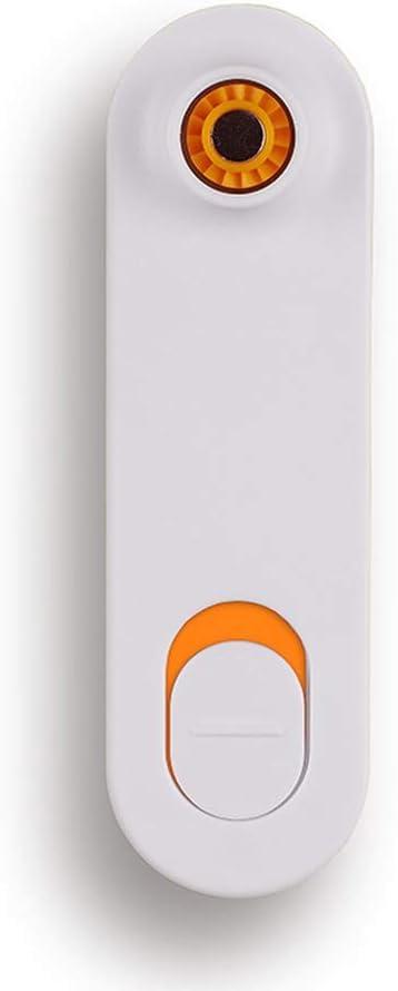 HERVI CYQ Ventilador de Mano, Ventilador de Viaje Mini portátil USB Ventilador, Ventilador Handheld eléctrico Recargable, Ventilador del Bolsillo Plegable, (2 Velocidad) (Color : Naranja)
