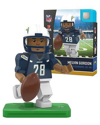 Melvin Gordon OYO Los Angeles Chargers Generation 4 G4 Mini Figure