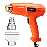 Best Hot Air Guns - REXBETI 1800W Dual Temperature Heat Gun, 140℉-1210℉(60℃-654℃) High Review