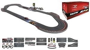 Scalextric Digital System - Circuito Digital con Pit Box: hasta 6 coches y con adelatamientos (D10009S500)
