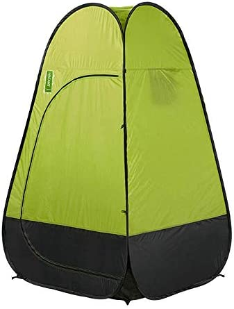 Stal Tent Single-layer waterdicht Hydraulische Rugzak automatisch opduikt Outdoor Klimmen Wild kamperen tent, eenvoudig te installeren Draagbaar (Size : Green)
