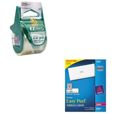KITAVE5160DUC07307 Value Kit Duck EZ Start Carton