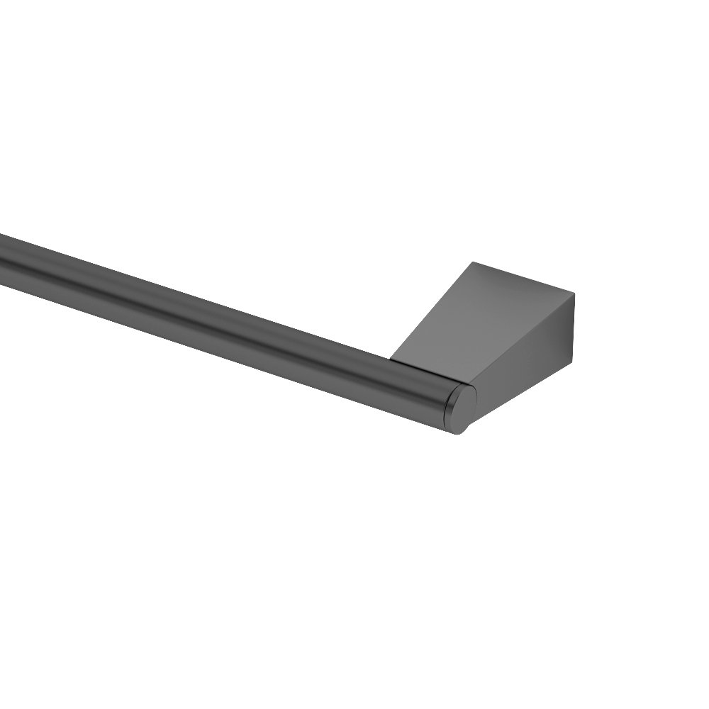 Gatco 4711MX Bleu, 18'' Towel Bar In Matte Black