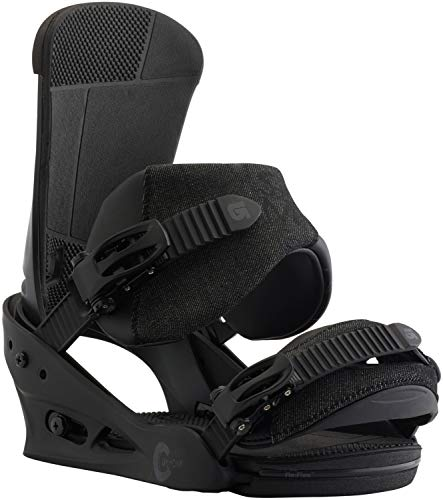 Burton Custom Snowboard Bindings Black Matte Sz M (8-11)