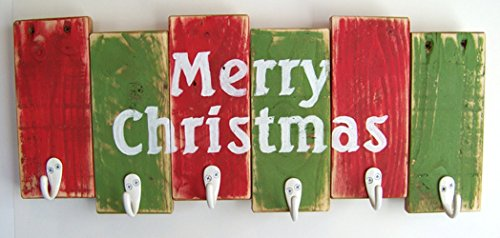 Christmas Decor by Out Back Craft Shack: Christmas Stocking Hanger - Custom orders welcome! (Organization Christmas Decoration)