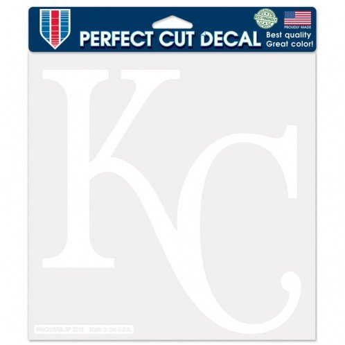MLB Kansas City Royals WCR02997115 Perfect Cut Decals, 8