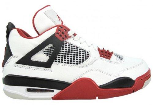 "Air Jordan 4 Retro ""Fire Red"" - 308497 110"