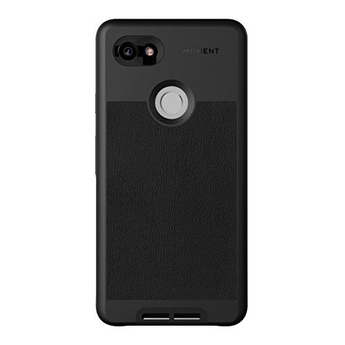 Pixel 2 XL Case    Moment Photo Case in Black Canvas - Protective, Durable, Wrist Strap Friendly case for Camera Lovers.