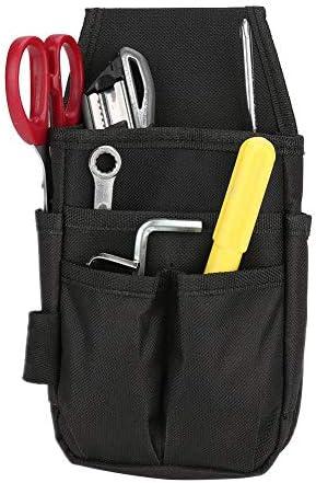 ツールウエストバッグ、電気技師用ツールポーチ、複数ポケットハードウェア付き
