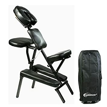 amazon com best professional foldable steel 3 foam massage chair