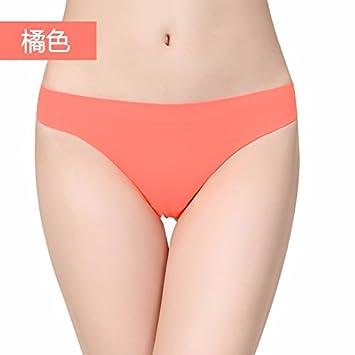 XIAOGEGE Sexy ropa interior sexy hembra sexo tanga T pantalones,Amarillo